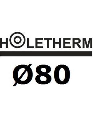 Holetherm Rookkanaal Ø80