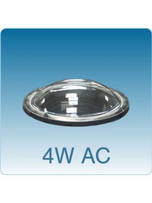 Losse ronde lichtkoepel vierwandig acrylaat (PMMA/PMMA/PMMA/PMMA)