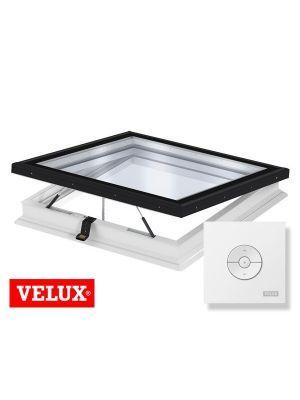 Velux Vlak Glas Lichtkoepel elektrisch ISD 2093 CVP 0673QV